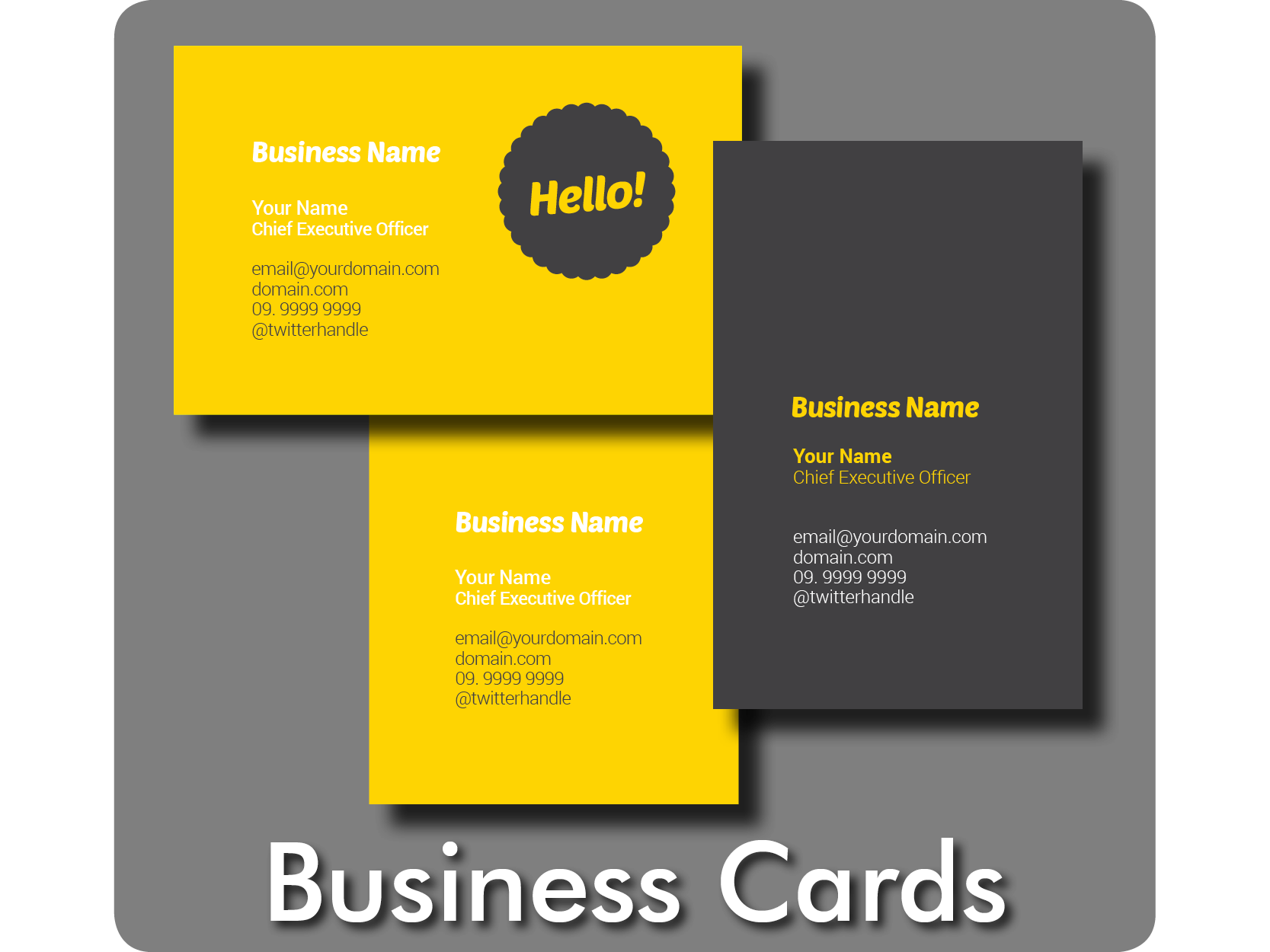 Business Cards, Dunedin Print, 297 Vogel Street, Dunedin4